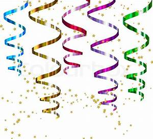 Party streamers. Vector | Stock Vector | Colourbox