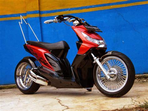 Modifikasi Handa Baet by Modifikasi Motor Honda Beat Drag Thecitycyclist