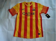 New Barcelona Away Kit for 201314 to have Senyera colours