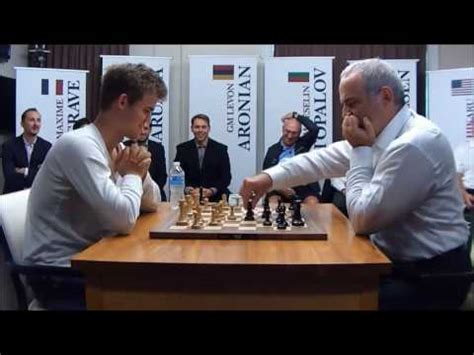 Chessmagnus Carlsen Vs Garry Kasparov, Leader Of Team
