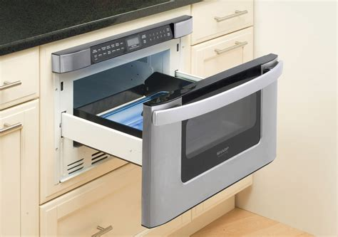 sharp microwave drawer kb 6524psy microwave 24 inch easy open microwave drawer