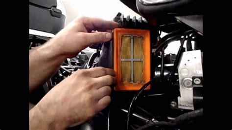 max bmw garage r1200rt air filter replacement