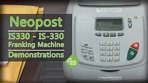 Franking Machines - Neopost Is330  Is-330 Franking Machine