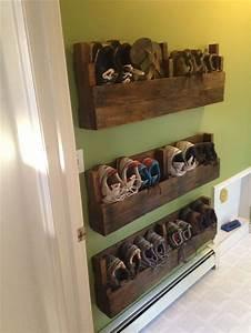 30 pallet shoe rack ideas to suit different tastes
