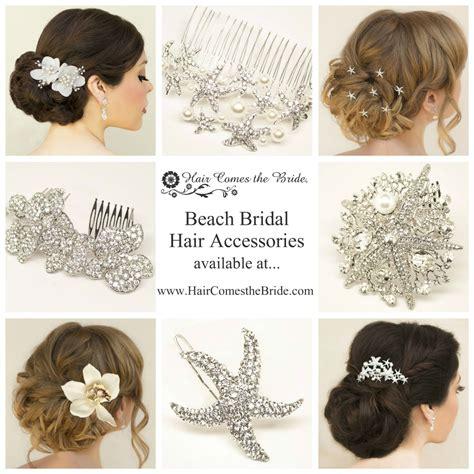 Beach Bridal Hair Accessories By Hair Comes The Bride