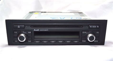 audi a3 radio audi a3 a4 concert ii cd player radio stereo 2006 2007