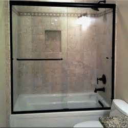 Bathtub Doors Oil Rubbed Bronze by Cardinal Shower Enclosures Complete Correct On Time
