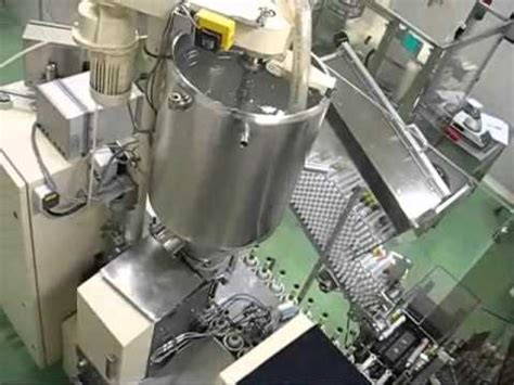 norden automatic tube filling  sealing machine nordenmatic   youtube