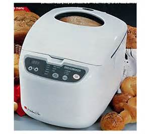 regal k6725 kitchen pro 2 lb horizontal breadmaker qvc com