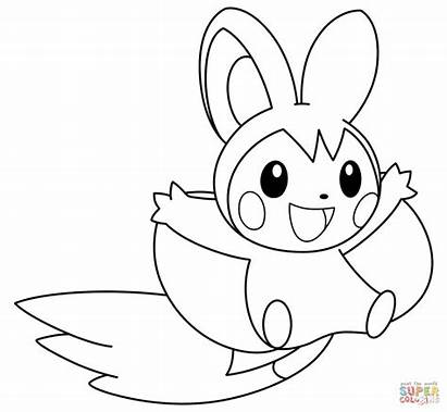 Pokemon Coloring Pages Chespin Printable Sheets Pdf