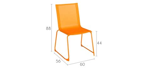 chaise empilable pas cher chaise empilable orange achetez nos chaises empilables