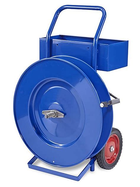 uline industrial strapping cart   uline