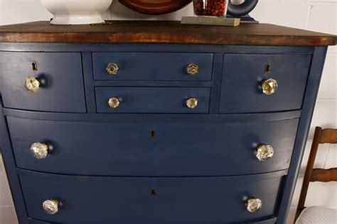 blue chest of drawers no 105 antique navy blue chest of drawers roots wings
