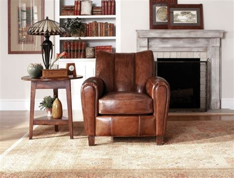 Stickley Audi Leather Sofa by Stickley Club Chair Luxurious Aged Leather