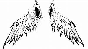 Angel Wings Clip Tattoos   Male Models Picture
