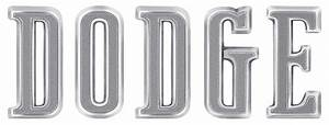 dodge charger parts emblems and decals oer With dodge hood letters