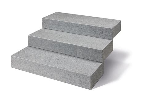 Blockstufen Beton Maße by Blockstufen Granit Anthrazit Geflammt Naturstein