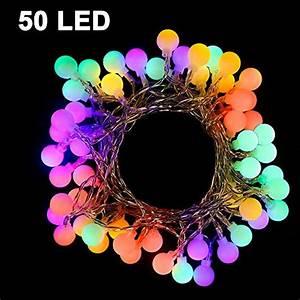 Lichterkette Bunt Innen : die coolste 16 led lichterkette bunt f r au en ~ Watch28wear.com Haus und Dekorationen