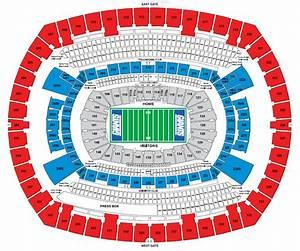 Aloha Stadium Seating Chart Nfl Stadium Seating Charts Stadiums Of Pro Football
