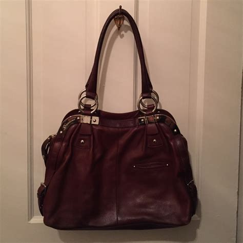 brown leather crossbody purse 80 b makowsky handbags b makowsky brown leather