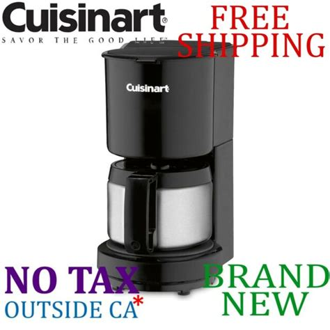 Make delicious fresh brewed coffee with this cuisinart 4 cup coffee maker (conair wcm08b). Cuisinart DCC-450BK 4-Cup Coffee Maker with Stainless-Steel Carafe - Black for sale online | eBay