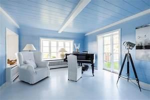 Decke Mit Rollputz Streichen : wohnzimmer streichen in 10 inspirierenden farben ~ Michelbontemps.com Haus und Dekorationen