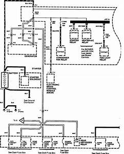 Acura Slx  1998 - 1999  - Wiring Diagrams