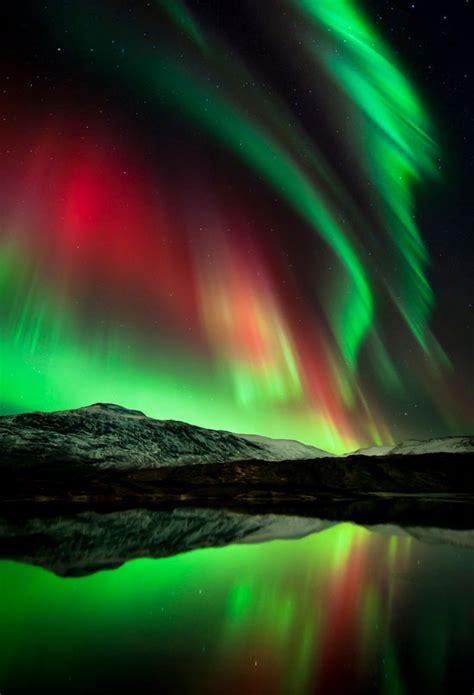 beautiful examples  night scenes  aurora   sky