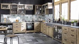 Meuble De Maison : maison du monde cuisine eleonore ~ Teatrodelosmanantiales.com Idées de Décoration