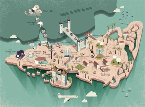 singapore tourist map   tourism company