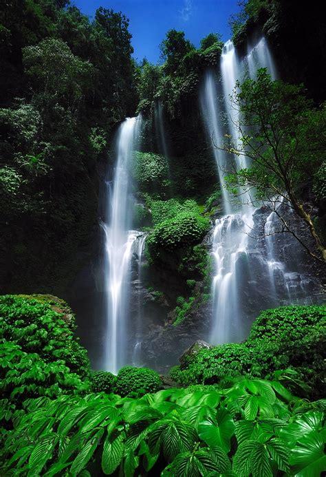 Sekumpul Waterfall Bali Indonesia Steder Jeg Vil Se