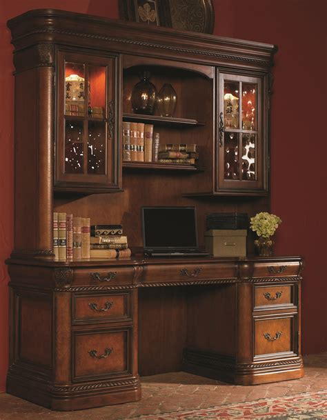 credenza desk and hutch 72 inch kneehole computer credenza display hutch with