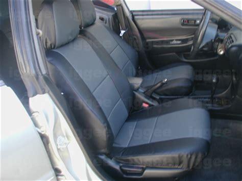 Acura Integra Seat Covers by Acura Integra 1990 2001 Leather Like Custom Seat Cover Ebay