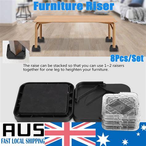set   bed risers furniture chair leg risers kg