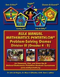 Pentathlon Institute Game Descriptions Division Iii