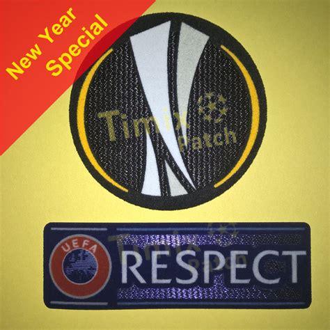 uefa europa league  respect sleeve soccer patch