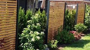 Garten Sichtschutz Günstig : sichtschutzzaun holz metall g nstig l rche h he grau wei aus holz metall aufstellen angebot ~ Indierocktalk.com Haus und Dekorationen