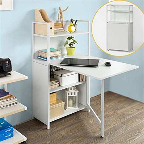table de bureau pliante sobuy fwt12 w table pliante armoire avec table pliable