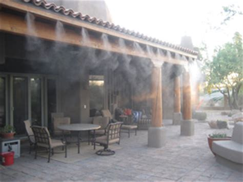 patio misting system the pros cons of outdoor misting systems theplumber