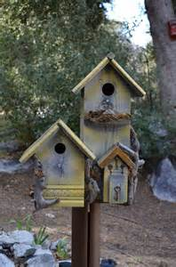 Rustic Country Bird Houses