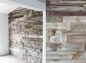 Barn Board panelling / Installing boards / wood on wall