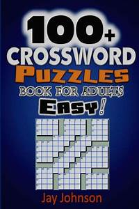 100  Crossword Puzzle Book For Adults Easy   The Easy