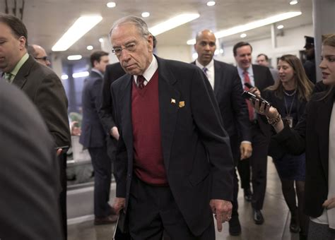 Grassley may release Russia interviews of Trump Jr