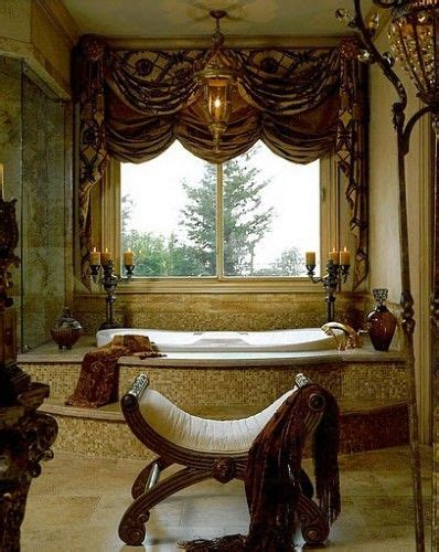 tuscan curtains ideas  pinterest wall drapes tuscan bathroom decor  wrought
