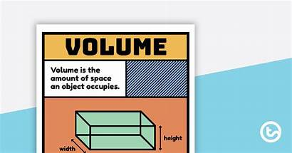 Volume Poster Teaching Vocabulary Resource Resources Teach