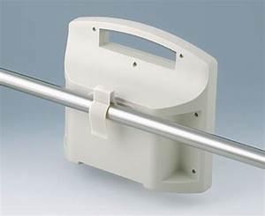 Clips De Fixation : supports fixation sur rails tubes ronds okw ~ Dode.kayakingforconservation.com Idées de Décoration