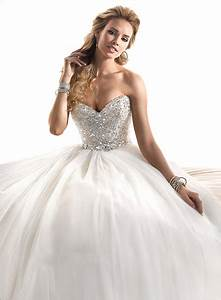Princess Wedding Dresses with Diamonds for Luxurious ...