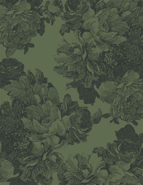 Barbara Ann Removable Wallpaper  Green Wallshoppe