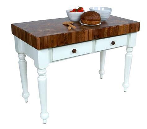 boos kitchen islands boos rustica kitchen island table w walnut top