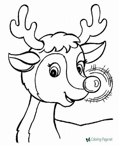 Christmas Coloring Printable Pages Below